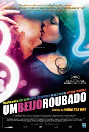 Cartaz do filme UM BEIJO ROUBADO – My Blueberry Nights