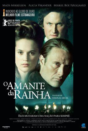 Cartaz do filme O AMANTE DE RAINHA – A Royal Affair