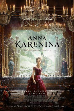 Cartaz do filme ANNA KARENINA