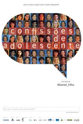 Cartaz do filme CONFISSÕES DE ADOLESCENTE