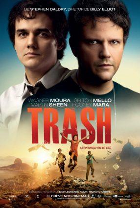 Cartaz do filme TRASH – A ESPERANÇA VEM DO LIXO – Trash