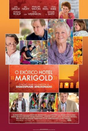 Cartaz do filme O EXÓTICO HOTEL MARIGOLD – The Best Exotic Marigold Hotel