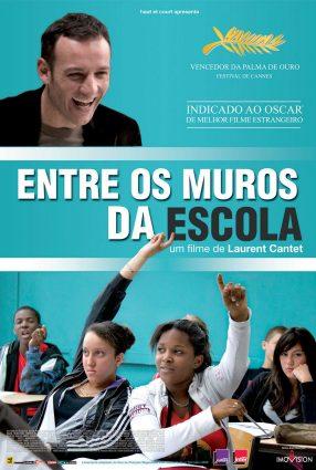 Cartaz do filme ENTRE OS MUROS DA ESCOLA – Entre les Murs