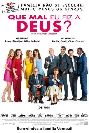 Cartaz do filme QUE MAL EU FIZ A DEUS? – Qu'est-ce qu'on fait au Bon Dieu?