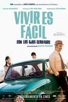 Cartaz do filme VIVER É FÁCIL COM OS OLHOS FECHADOS – Vivir es Fácil con los Ojos Cerrados