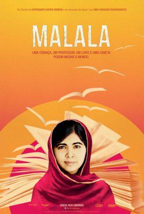 Cartaz do filme MALALA – He Named Me Malala