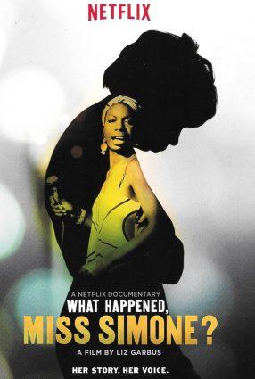 Cartaz do filme WHAT HAPPENED, MISS SIMONE?