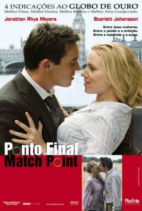 Cartaz do filme PONTO FINAL – Match Point
