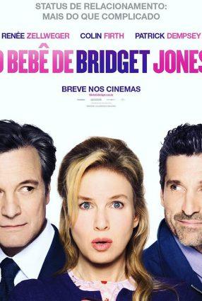 Cartaz do filme O BEBÊ DE BRIDGET JONES – Bridget Jones's Baby