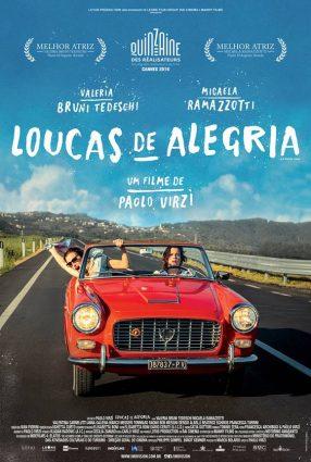 Cartaz do filme LOUCAS DE ALEGRIA – La Pazza Gioia