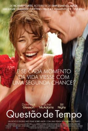 Cartaz do filme QUESTÃO DE TEMPO – About Time