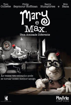 Cartaz do filme MARY E MAX –  UMA AMIZADE DIFERENTE – Mary and Max