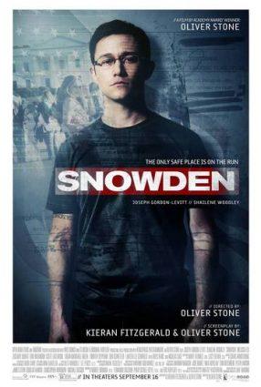 Cartaz do filme SNOWDEN – HERÓI OU TRAIDOR – Snowden