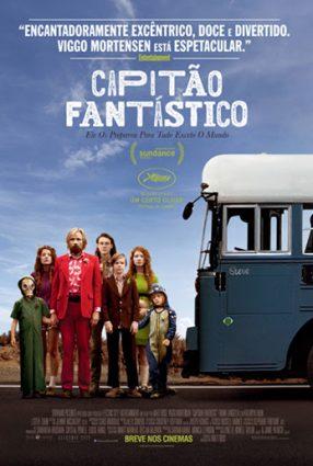 Cartaz do filme CAPITÃO FANTÁSTICO – Captain Fantastic