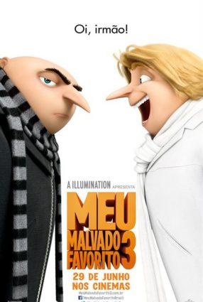 Cartaz do filme MEU MALVADO FAVORITO 3 – DESPICABLE ME 3
