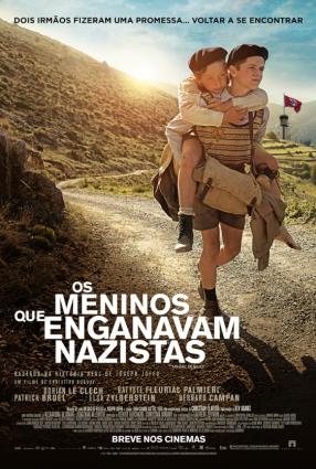 Cartaz do filme OS MENINOS QUE ENGANAVAM NAZISTAS   un sac des billes