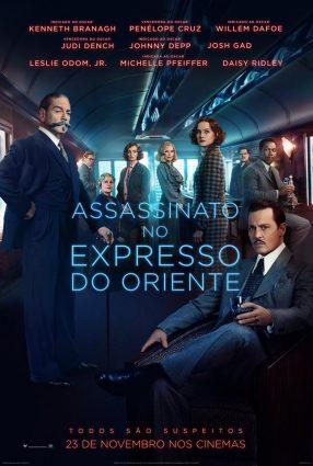 Cartaz do filme ASSASSINATO NO EXPRESSO DO ORIENTE – Murder on the Orient Express
