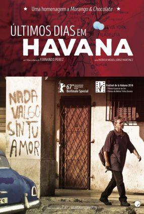Cartaz do filme ÚLTIMOS DIAS EM HAVANA – ÚLTIMOS DÍAS EN LA HABANA