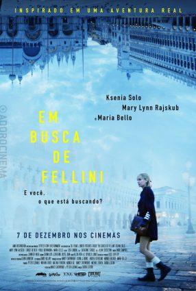 Cartaz do filme EM BUSCA DE FELLINI – In search of Fellini