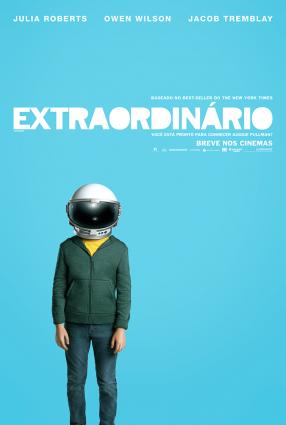 Cartaz do filme EXTRAORDIÁRIO – wonder