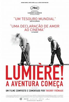 Cartaz do filme LUMIÈRE! A AVENTURA COMEÇA – LUMIÈRE