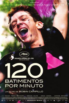 Cartaz do filme 120 BATIMENTOS POR MINUTO – 120 BATTEMENTS PAR MINUTE