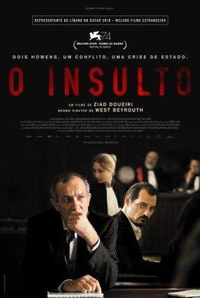 Cartaz do filme O INSULTO – L'Insulte