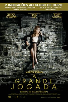 Cartaz do filme A GRANDE JOGADA – Molly's Game