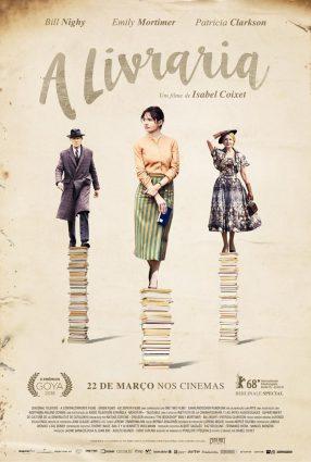 Cartaz do filme A LIVRARIA – The Bookshop