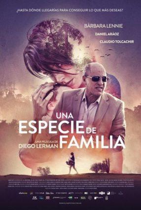 Cartaz do filme UMA ESPÉCIE DE FAMÍLIA – Una especie de familia