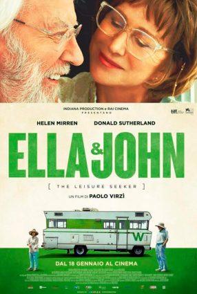 Cartaz do filme ELLA & JOHN – The Leisure Seeker