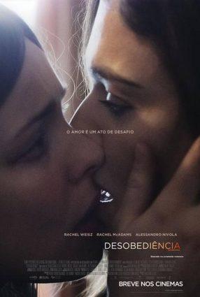 Cartaz do filme DESOBEDIÊNCIA – Disobedience