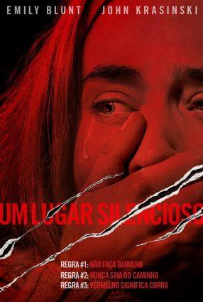 Cartaz do filme UM LUGAR SILENCIOSO – A Quiet Place