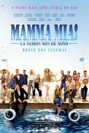 Cartaz do filme MAMMA MIA – LÁ VAMOS NÓS DE NOVO – Mamma Mia – Here We Go Again