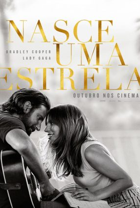 Cartaz do filme NASCE UMA ESTRELA – A Star is Born