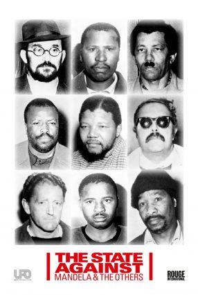 Cartaz do filme O ESTADO CONTRA MANDELA E OS OUTROS – The State Against Mandela and the Others  | 42ª Mostra SP