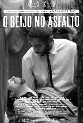 Cartaz do filme O BEIJO NO ASFALTO