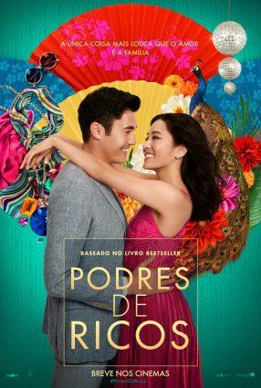 Cartaz do filme PODRES DE RICOS – Crazy Rich Asians