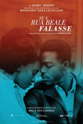 Cartaz do filme SE A RUA BEALE FALASSE – If Beale Street Could Talk