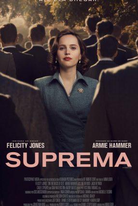 Cartaz do filme SUPREMA – On the Basis of Sex