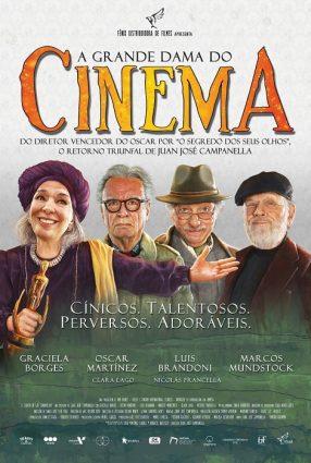 Cartaz do filme A GRANDE DAMA DO CINEMA – El Cuento de la Comadrejas