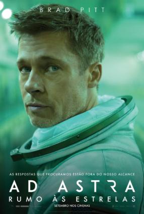 Cartaz do filme AD ASTRA – RUMO ÀS ESTRELAS
