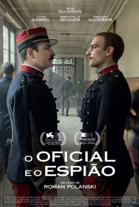 Cartaz do filme O OFICIAL E O ESPIÃO | J'ACCUSE