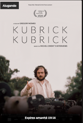 Cartaz do filme KUBRICK BY KUBRICK