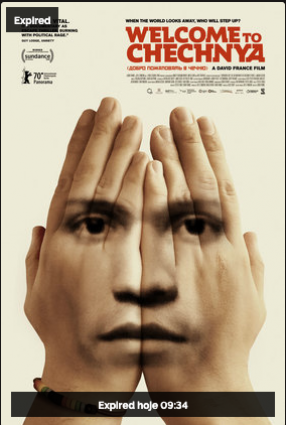 Cartaz do filme WELCOME TO CHECHENYA