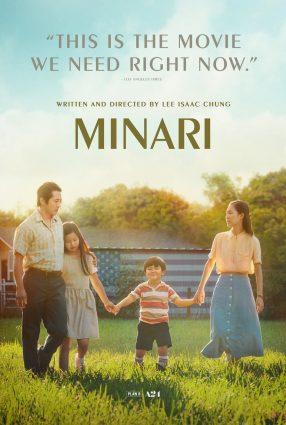 Cartaz do filme MINARI – EM BUSCA DA FELICIDADE – Minari