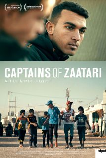 Cartaz do filme CAPITÃES DE ZAATARI – Captains of Za'atari
