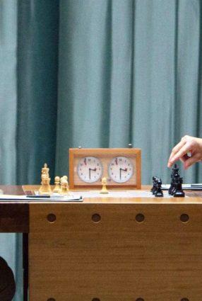 Cartaz do filme O DONO DO JOGO – Pawn Sacrifice